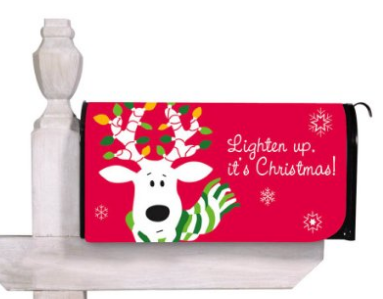 christmas magnetic mailbox cover